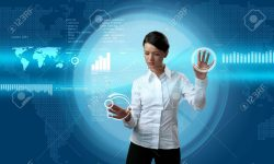 6540283-Attractive-brunette-navigating-futuristic-interface-outstanding-business-people-in-interiors-interfa-Stock-Photo